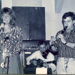 Jacqy Phillips & Bob Porter Sept 89