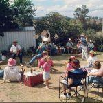 BBQ at Walter's farm - Dec 1991