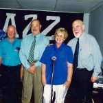 Ken, Tony and Margie with Bob Barnard and John McCarthy April 1998