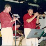Eric Holroyd's Abbey Jazz Band, Black and White Ball 1990