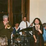 """Swain Before Pearls"" March 1996 Jenny Swain, Ken Vatcher, John Grunden, Mike Webb and Vince Jones"