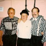 Les, Bob and Colin at the Black and White ball 1994